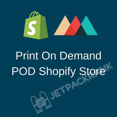 I Will Create Print On Demand POD Shopify Store