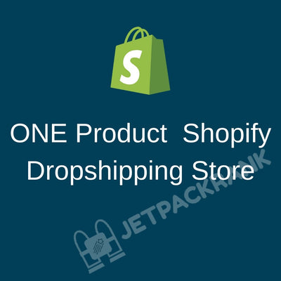 I Will Create High Converting One Product Dropshipping Shopify Store