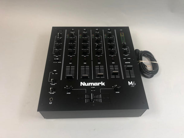 NuMark 4 Channel Mixer-Used