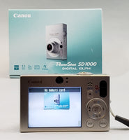 Canon PowerShot SD1000 Digital ELPH 7.1MP USED