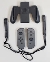Nintendo Switch HAC-001 Gray Console Joy Con Controller Dock Complete Bundle USED