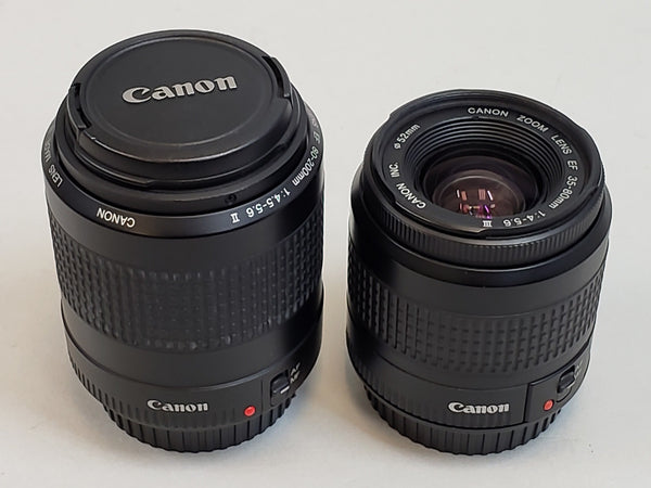 Canon Zoom Lenses EF 80-200MM & EF 35-80MM - USED!