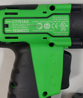 "Snap-On 14.4V Impact Wrench 3/8"" (10mm) CT761AG (Green) Bundle - USED - With CTB8172BK Lithium Battery!"