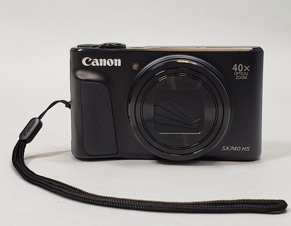 Canon PowerShot SX740 HS (Black) 20.3 MP 4K HD - USED - Camera Only!