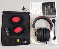 HyperX Cloud II Noise-Cancelling Wired Gaming Headset (Red) - NEW OPEN BOX!