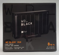 Western Digital: WD_Black D10 8TB High Performance Game Drive (PS4,XB1,PC) - NEW OPEN BOX!