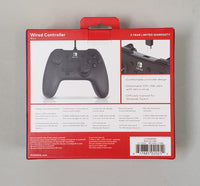 Nintendo Switch - PowerA (Black) Enhanced Wired Controller - NEW OPEN BOX!