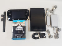 Nintendo Wii U (Black) Model: WUP-101(02) Complete Bundle - USED! Includes 6 Games!