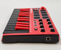 AKAI Professional MPK Mini MKII (Limited Edition Red) - USED - USB Cord Included!