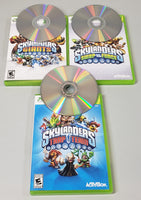 Skylanders Xbox 360 Lot (Games, Figures & Portals) - USED - 29 Figures & 3 Crystals!