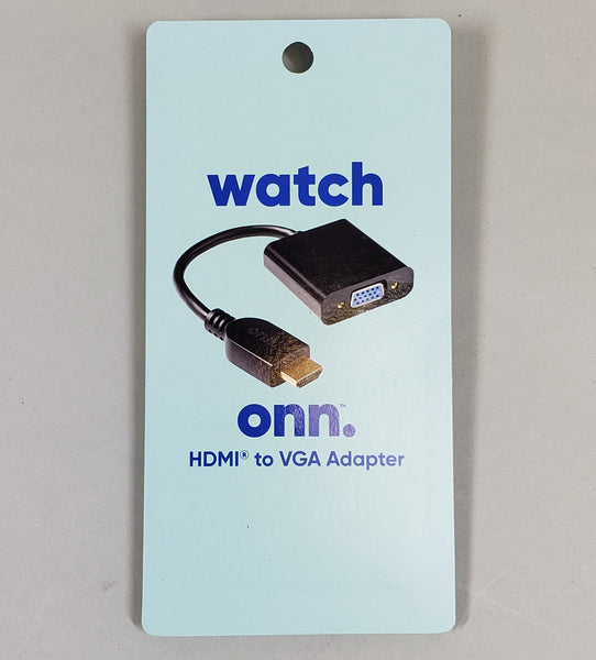 ONN. HDMI to VGA Adapter - BRAND NEW!