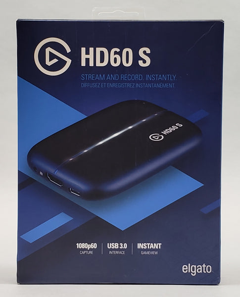 Elgato HD60 S Capture Card (1080P) - USED - Original Box Included!