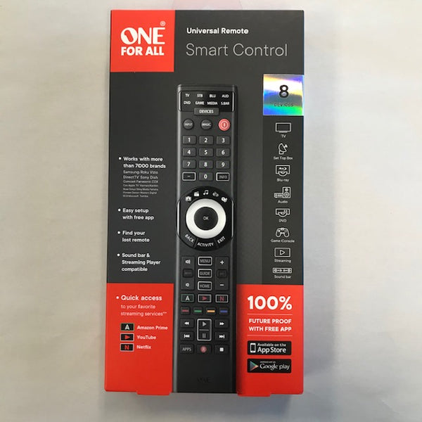 One For All Universal Remote Smart Control - New