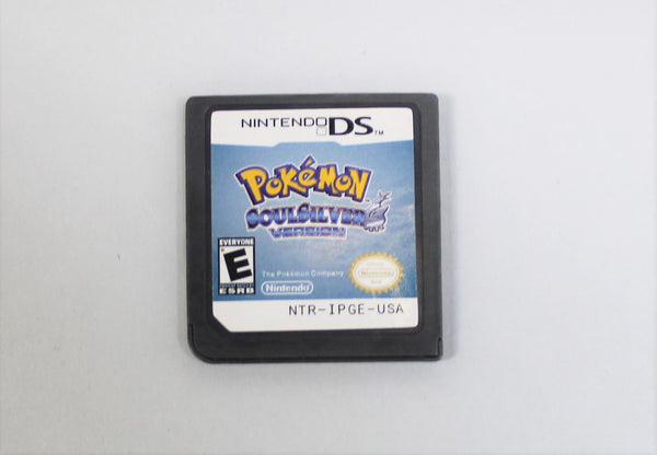 Pokemon SoulSilver Version Game Card For Nintendo DS