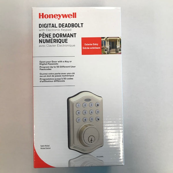 Honeywell Digital Deadbolt with Electronic Keypad - New