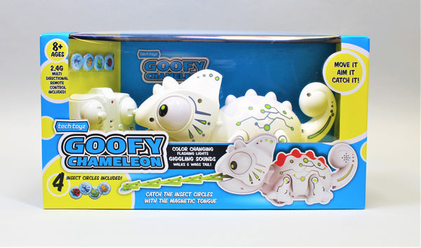 Tech Toyz Goofy Chameleon New In Box