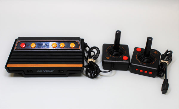 ATARI - FLASHBACK 8 / CLASSIC GAME CONSOLE [w/ 2 CONTROLLERS] (USED) | AR3050