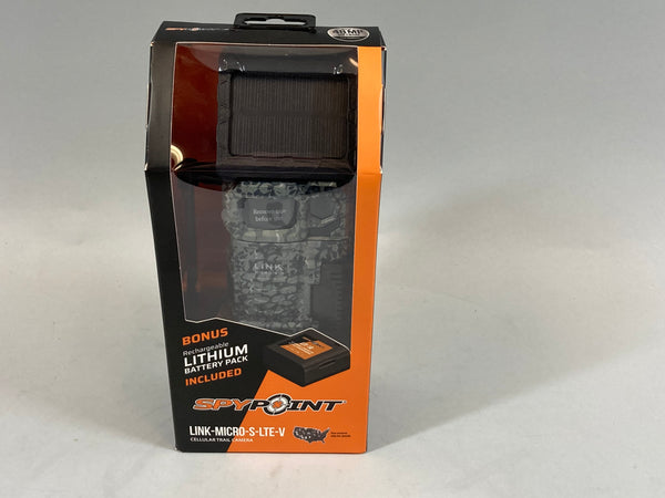 Spypoint Link Micro-S-LTE-V Trail Camera New