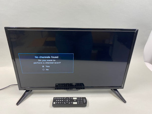 "24"" Insignia™ Non-Smart Class LED HD TV with Remote - USED"