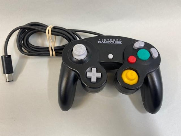 Genuine Nintendo Game Cube Controller Black DOL-003- USED!