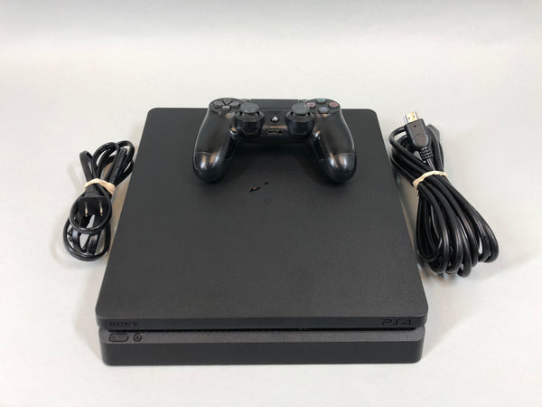 Sony Playstation 4 Pro 1TB Model CUH-2215B Console & Controller Black Used