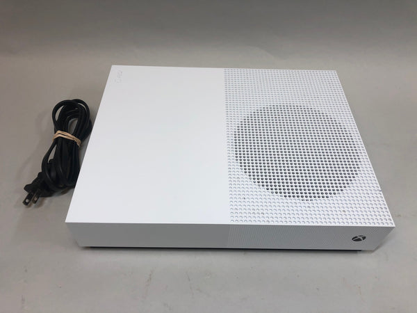 Microsoft Xbox One S White 1TB All Digital Complete-Used-Read