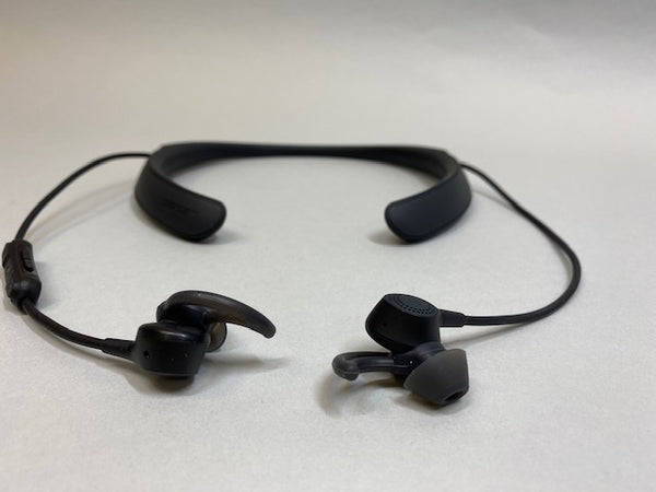 Bose QuietControl 30 Neckband Wireless Headphones In Ear Black- USED