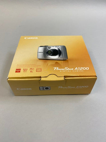 "Canon PowerShot A1200 Digital Camera 12.1MP 28mm 2.7""LCD- NEW in open box"