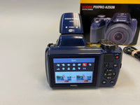 Kodak PixPro AZ528 Digital Camera 16MP 52X 1080p Wi-Fi Midnight Blue - USED in box