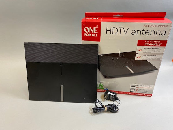 One For All 16472 Amplified HDTV Indoor Antenna Suburbs Line - USED in box