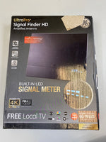 GE UltraPro Signal Finder HD Amplified Antenna LED Signal Meter 40529 - USED open box
