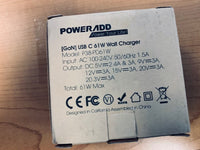 Power Add USB C 61W Wall Charger - NEW in Sealed Box