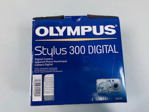 Olympus Stylus 300 3.2MP Silver Digital Camera - USED