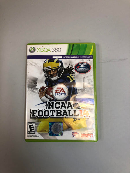 EA Sports NCAA Football 14 Xbox 360 2013 Used