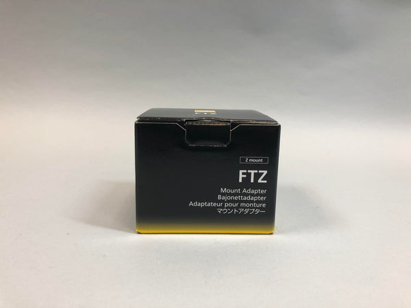 FTZ Camera Mount Adapter 4185 Black Used In Box