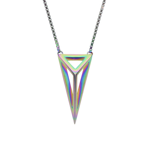 Iridescent Sterling Silver