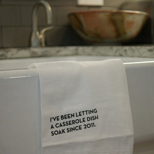 Casserole Tea Towel