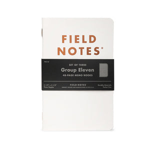 Limited Edition Group Eleven Memo Book Set