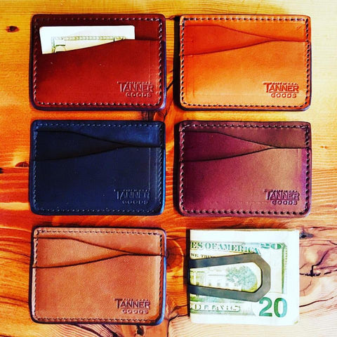 Tanner Goods Journeyman Wallet | Natural