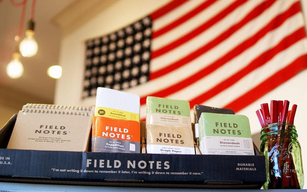 Field Notes Memo Books | Pitch Black