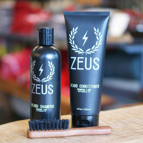 Zeus Boar Bristle Beard Brush