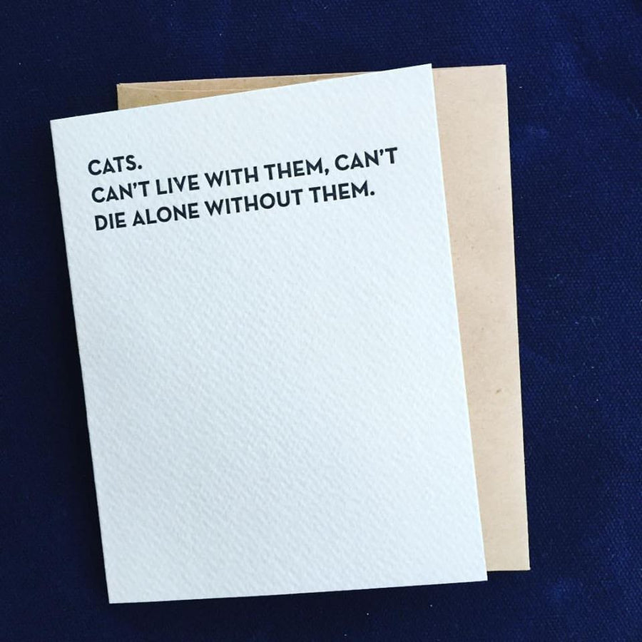 Die Alone Card