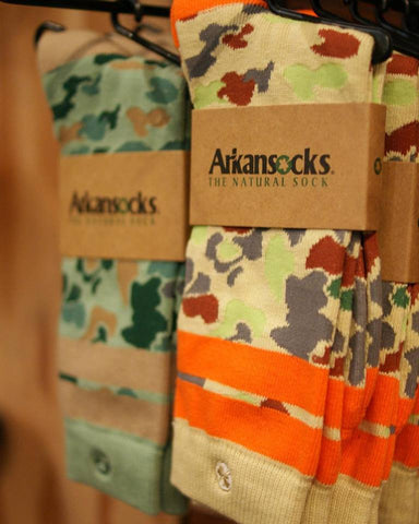 Arkansocks Duck Camp Socks | Tan