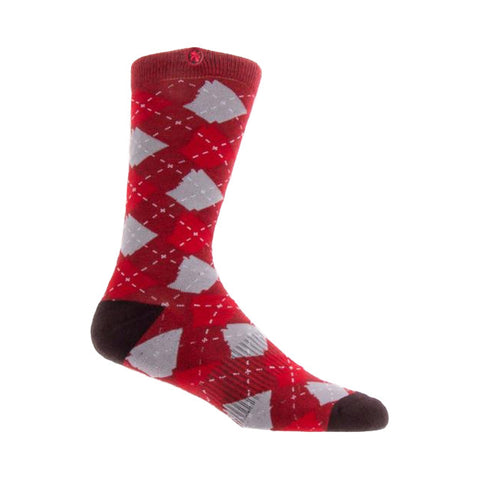 Arkansocks Argyle State Socks | Red