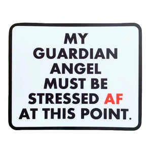 My Guardian Angel Sticker