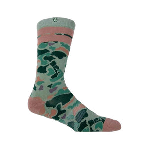 Arkansas Duck Camp Socks | Olive