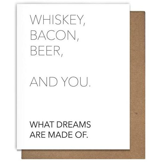 Whiskey + You Card