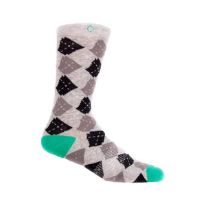 Argyle State Sock | Heather