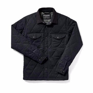 Hyder Quilted Jac-Shirt | Navy
