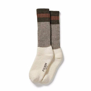 1970's Logger Thermal Sock | Green